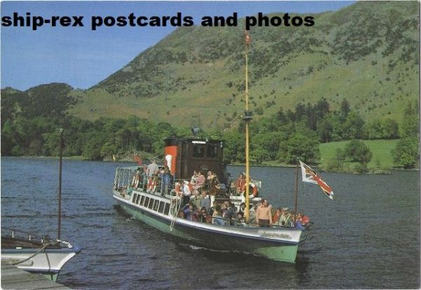 LADY OF THE LAKE (1877, Ullswater) postcard